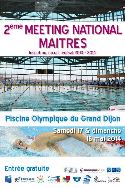 2 me meeting maitres de dijon for Piscine olympique dijon
