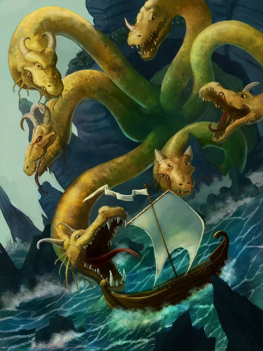 scylla and charybdis in homers the odyssey How can the answer be improved.