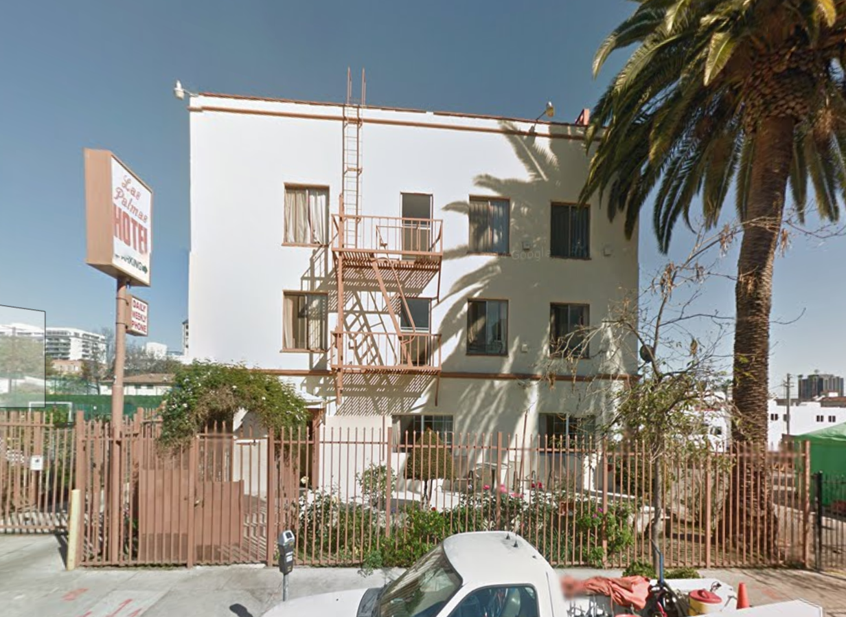 The Google Street View Of Las Palmas Hotel Is Virtually Identical To Photograph That I Took When Visited It S A Nice Clear Shot At