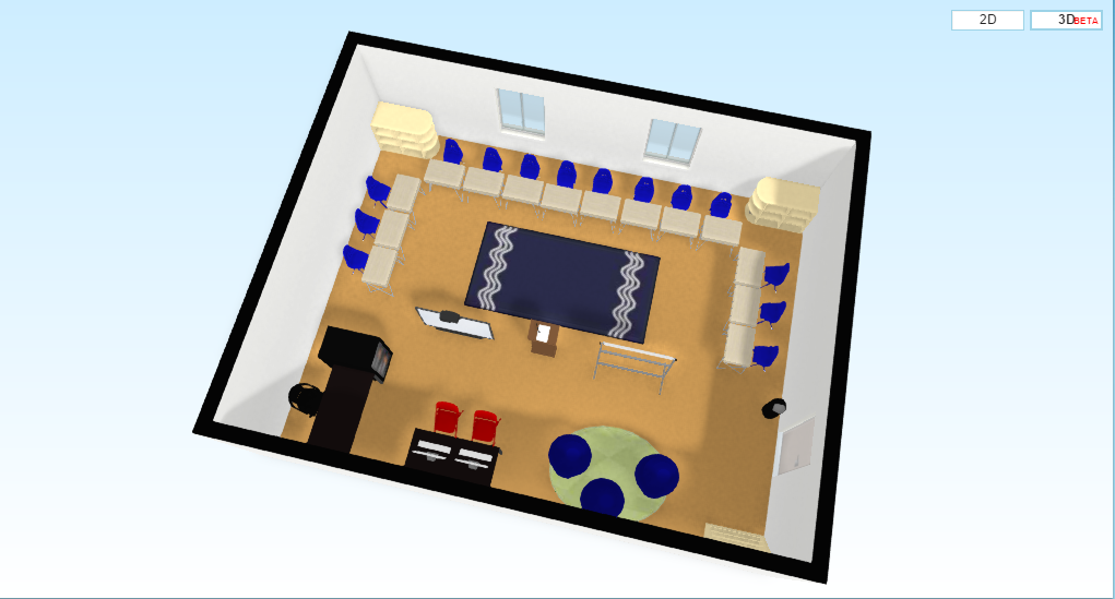 Create a classroom floor plan floor planner is a website for Website that allows you to design a room