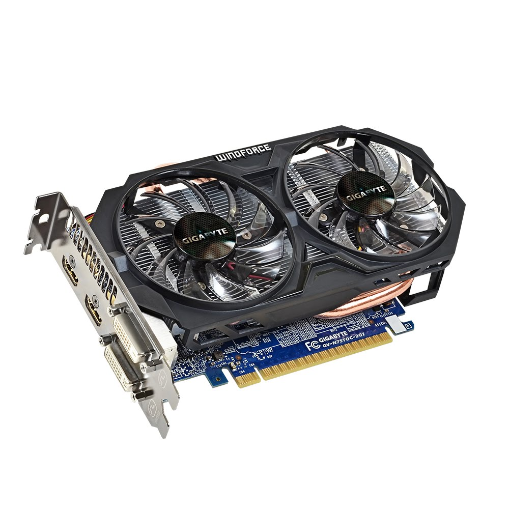 CARD MAN HINH GIGABYTE GEFORCE GTX750 TI 2G /DDR5/ 128BIT