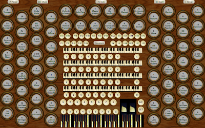 Composite English Cathedral Organ