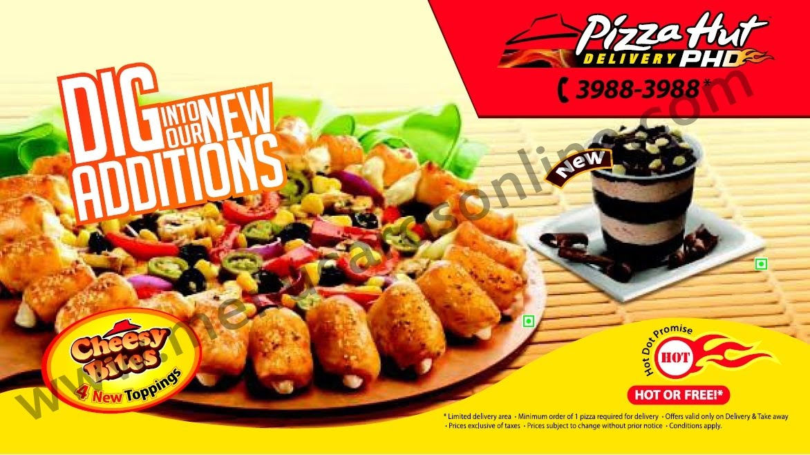 Pizza hut coupon code online