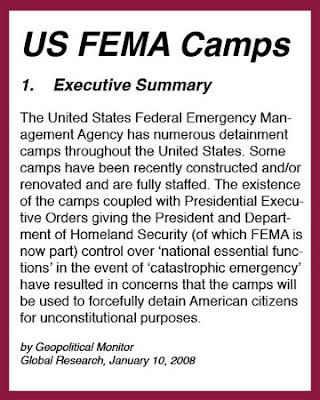 FEMA Camps Listing - mercuryonememphis