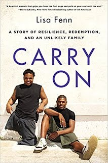 https://www.amazon.com/Carry-Resilience-Redemption-Unlikely-Family/dp/0062427849/ref=sr_1_1?ie=UTF8&qid=1528981635&sr=8-1&keywords=carry+on+lisa+fenn