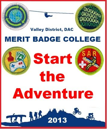 Merit Badge College Patch