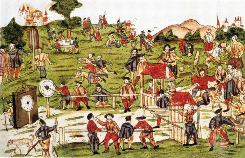 Archery Festival at  St. Gallen 1520-21