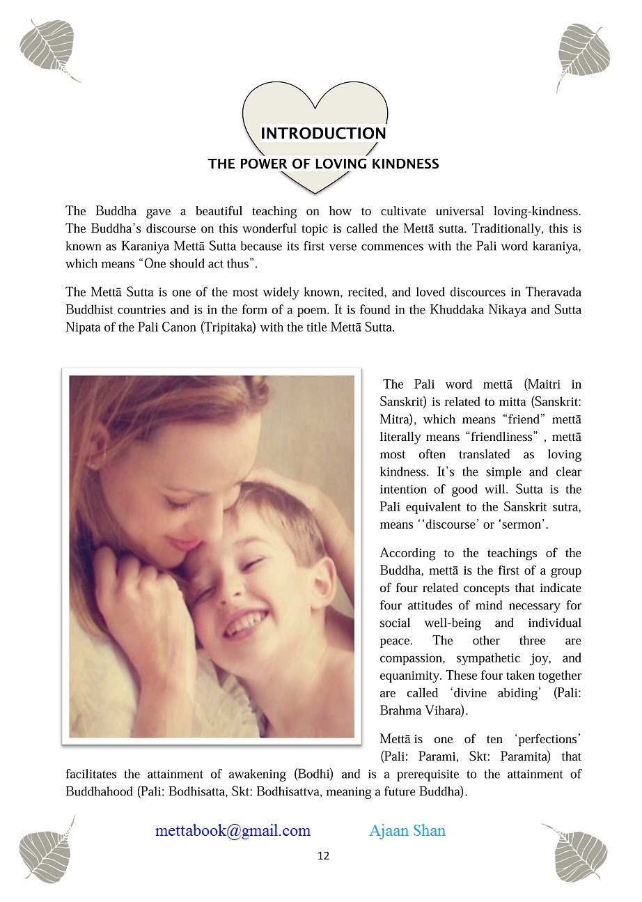 05Introduction- The Power of loving kindness - Mettabook