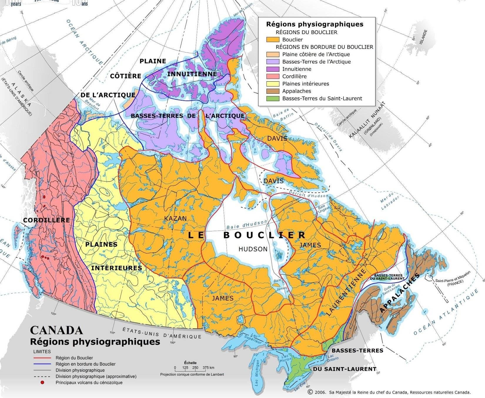 Carte Canada Region.Exercicesdecartes Mhoulesuperprof