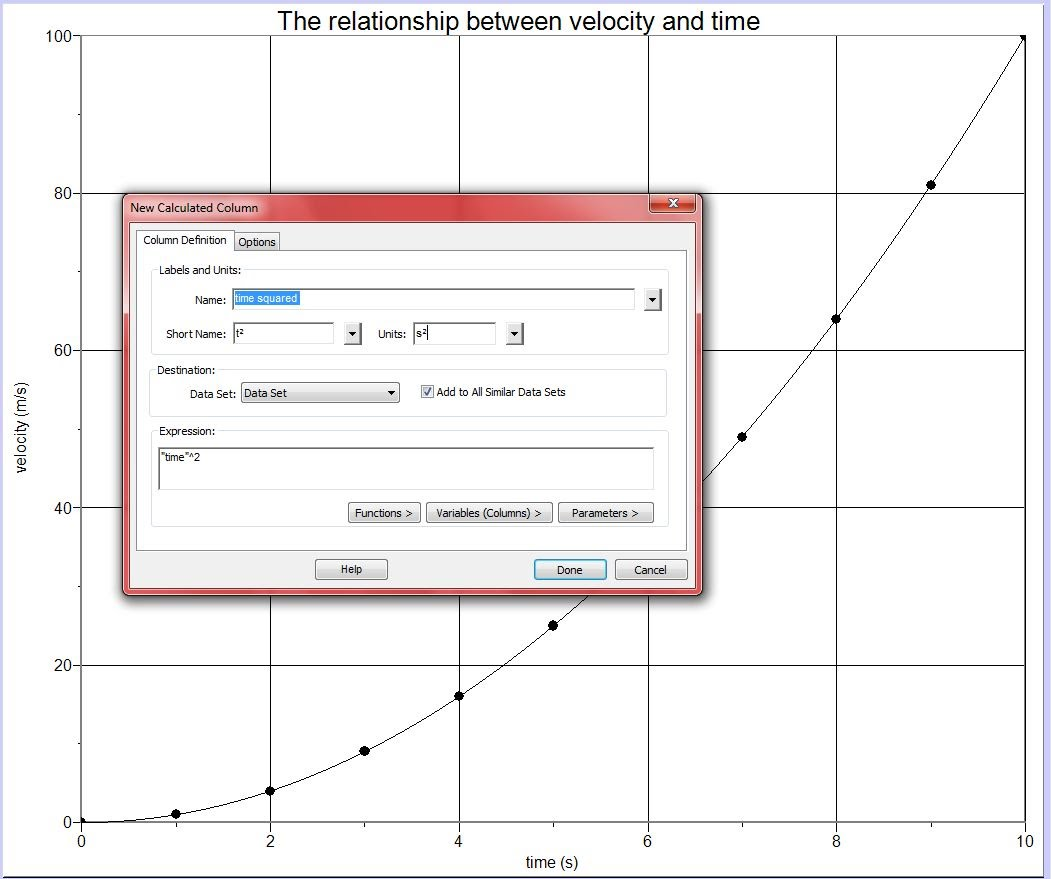 how to make hysteresis curve logger pro