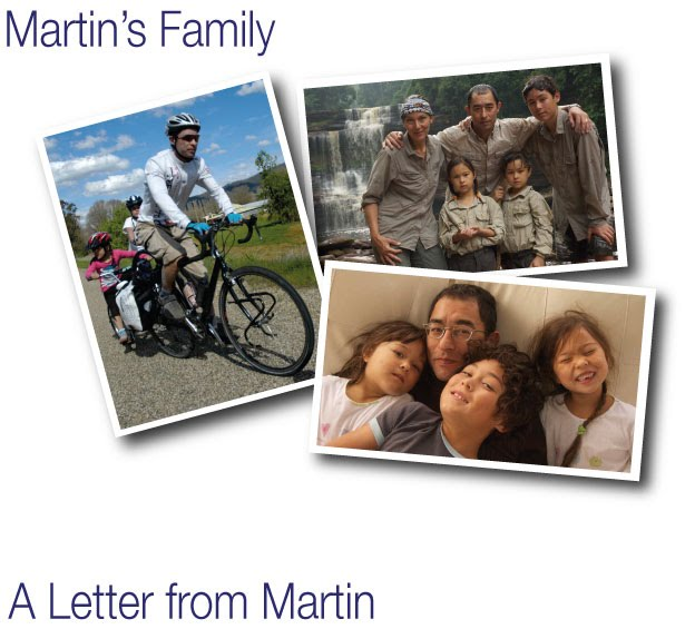 Martin and his Family