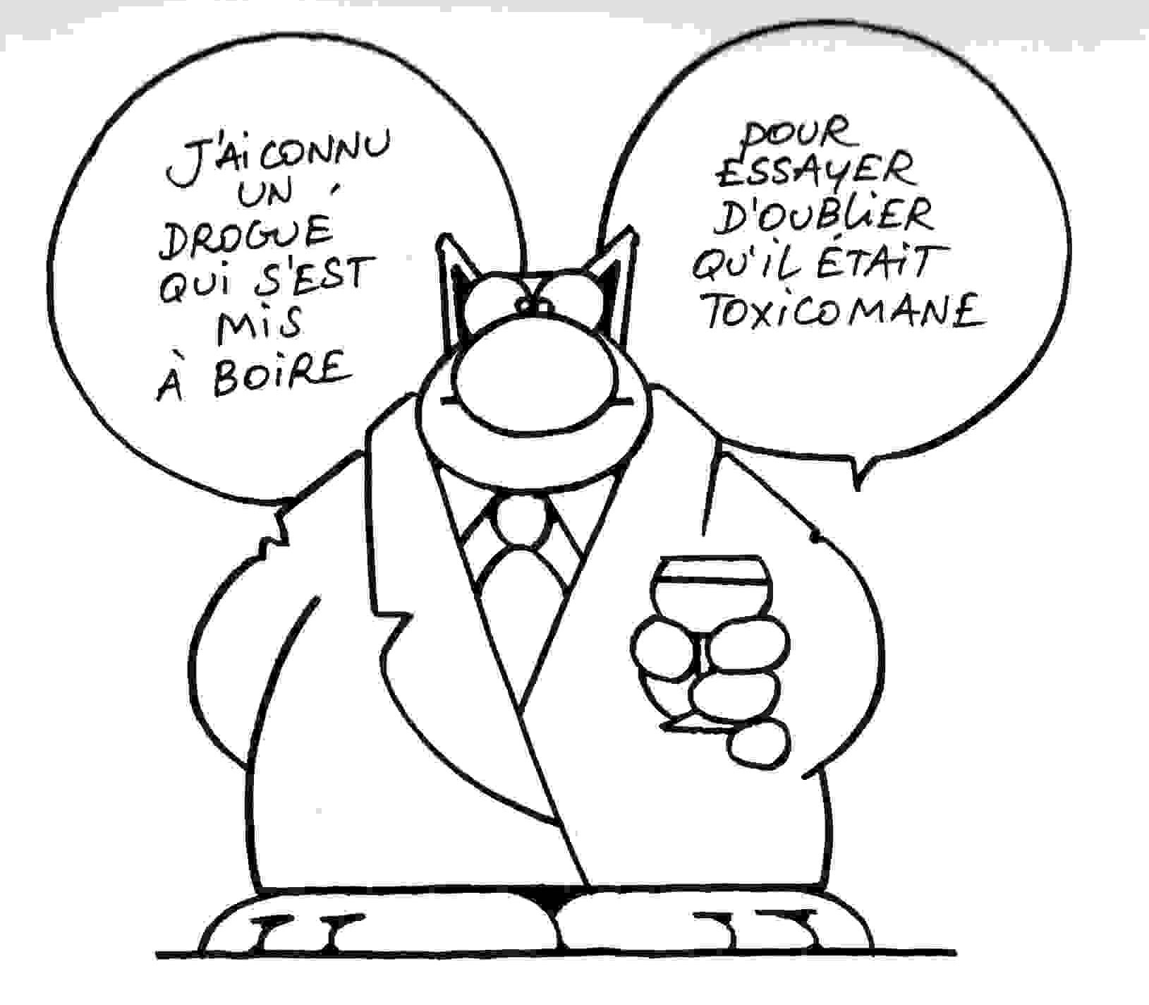 Phillipe Geluck le chat toxico