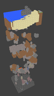 This is what one Chunk looks like. A 16x16 piece of your world.