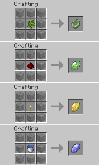 Pokecube Crafting Recipes   Pc