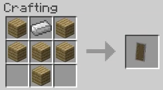 minecraft how to make a shueld