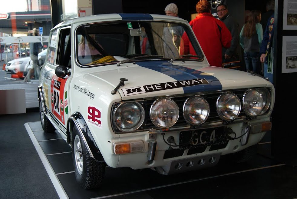 1972 Rally of New Zealand won by MINI 1275GT - clubmini New Zealand