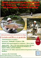 French Poster for 3rd Annual European Tenkara Convention