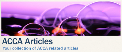 ACCA F5 Articles