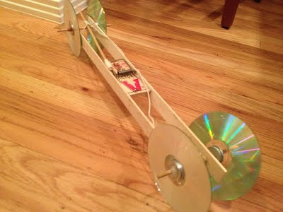 how to build a good mousetrap car