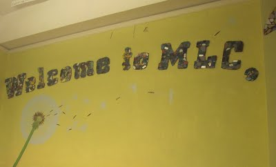 This is the first thing you see when you walk in to MLC, so we think its a good opening page.