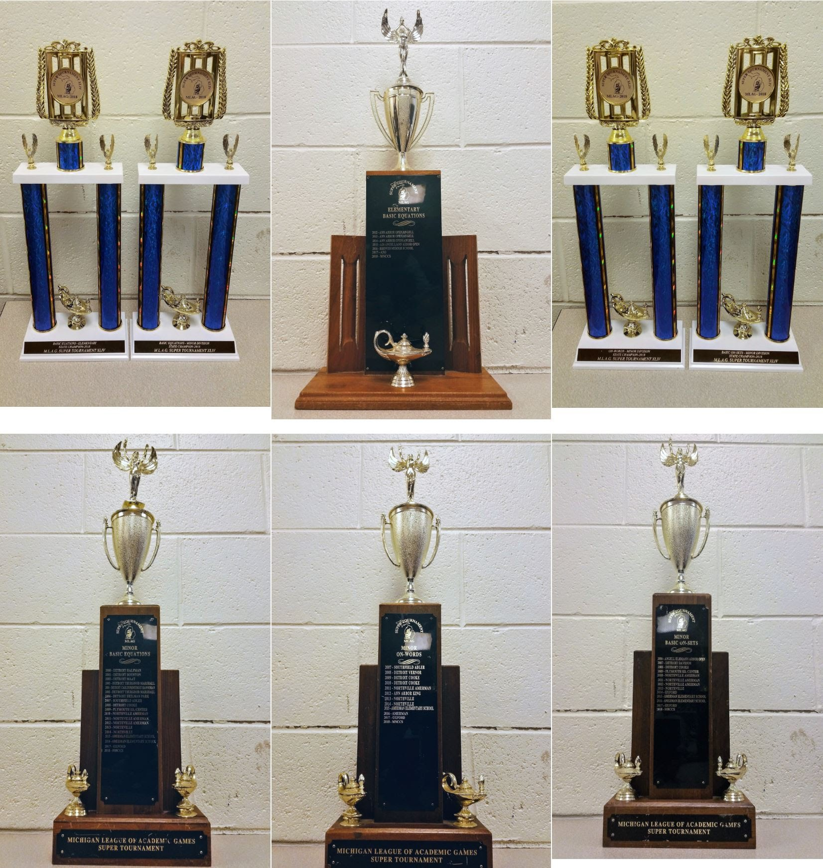 AG Trophies 2018
