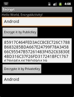 Lab2: RSA Encryption program(Eclipse) - Mobile Security Labware
