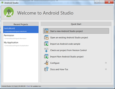 Lab2 Permission( by Android Studio) - Mobile Security Labware