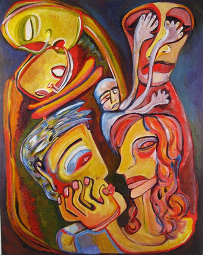 Expressionist Figurative Paintings
