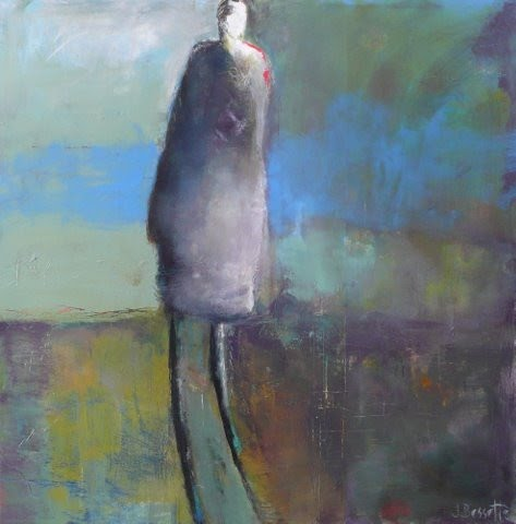 colorful figurative abstract painting