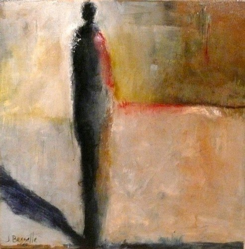 beautiful figurative abstract painting