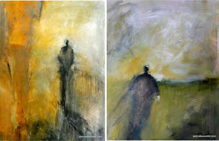 paintings abstract expressionist figurative art
