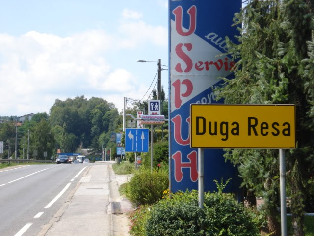 karta duge rese KAKO DOĆI DO DUGE RESE?/HOW TO COME IN DUGA RESA?   GRAD  karta duge rese