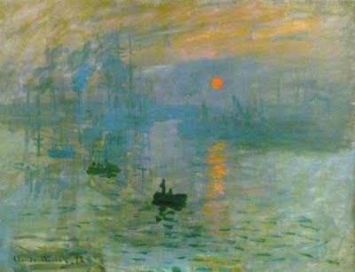 CLAUDE MONET : IMPRESSION SOLEIL LEVANT dans ART ET CULTURE