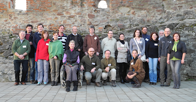 Participants of the Monitoring workshop in Sighisoara, 2012