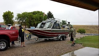 flaming gorge thunder jet boat fishing www.montysfishing.com lucerne marina guides
