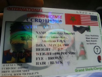 Secured Cards >> International Drivers License - ISRAELITES/PHOENICIANS ...