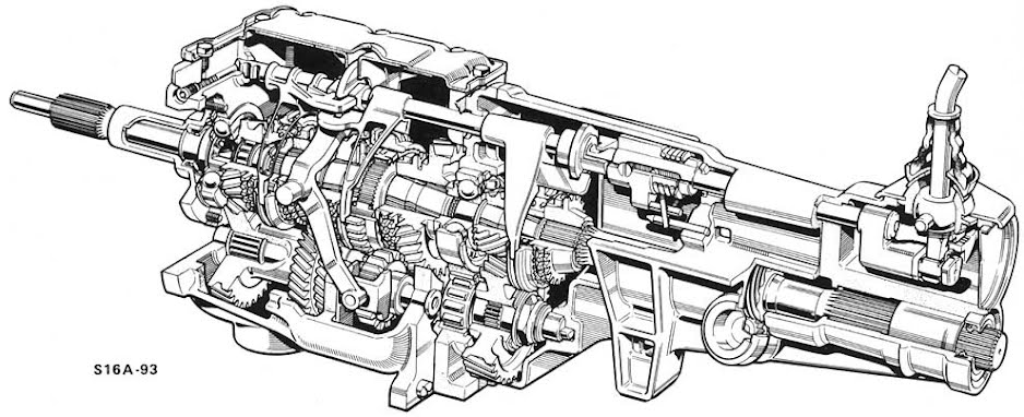 Ford Type 9 Gearbox - Morganatica