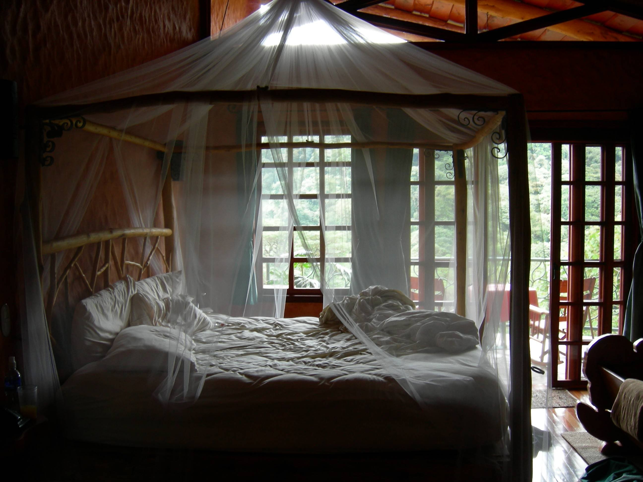 Luxury View of the awesome King Size Canopy Bed