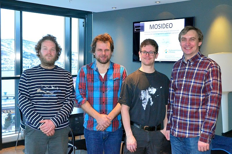 MOSIDEO group photo, 24 Feb 2015, Narvik