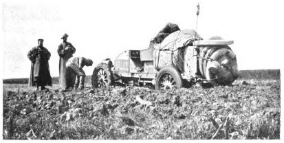 Sunk on the road to Kainsk