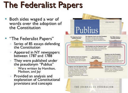 anti federalist papers cliff notes