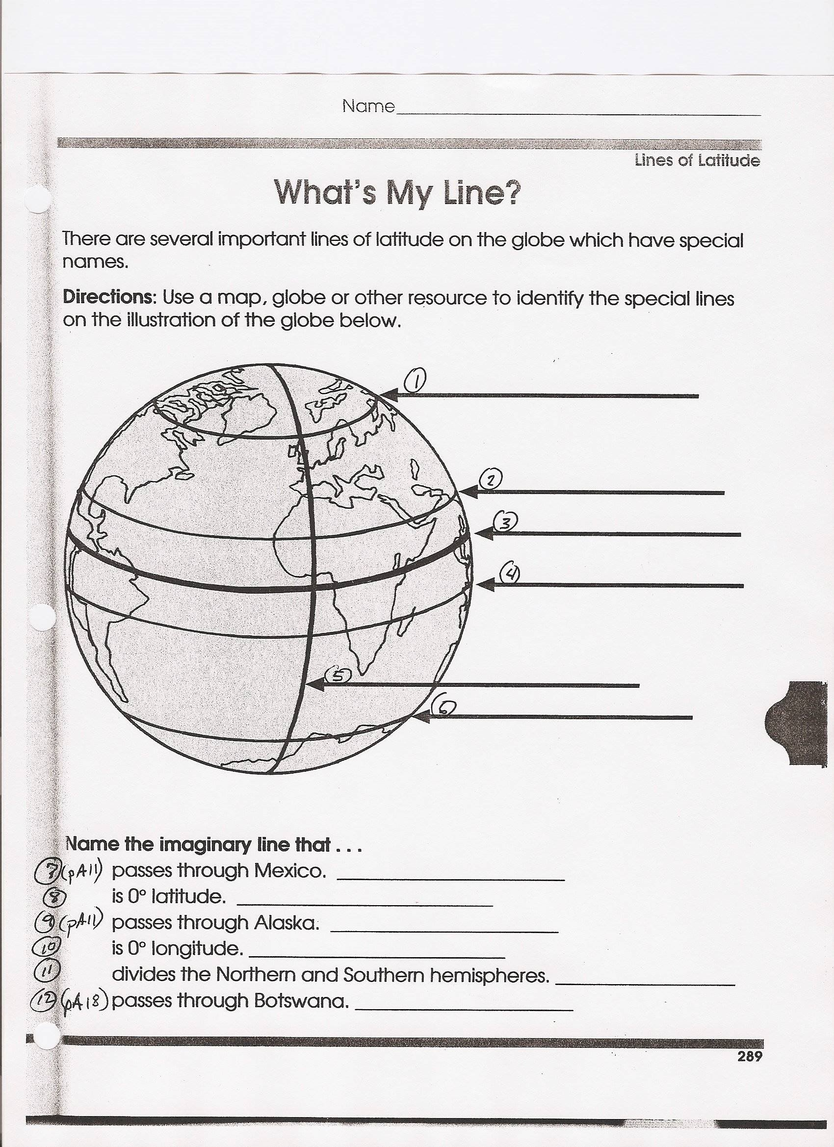 latitude and longitude practice worksheet educationcom