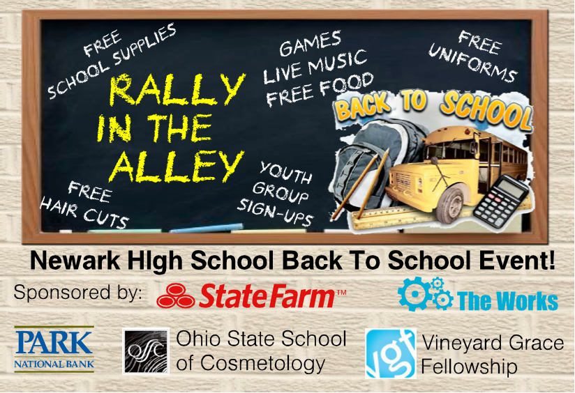 Rally in the Alley - NHS Closing the Achievement Gap