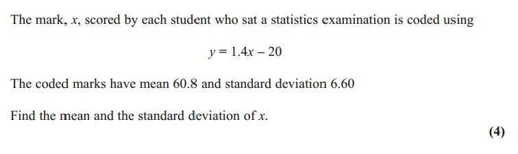 Standard deviation and coding mr jeffery maths year 12 s1 mean median standard deviation coding ccuart Images