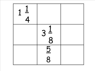 Fraction Magic Squares - Www imagez co