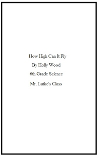 how to make a title page