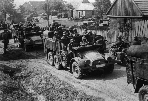 German Invasion of Poland - Mr. Moore's WH - Semester II