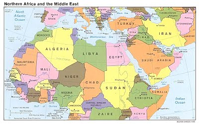 Ilike2learn Africa Map.North Africa And The Middle East Mrs Haugan S Class Website