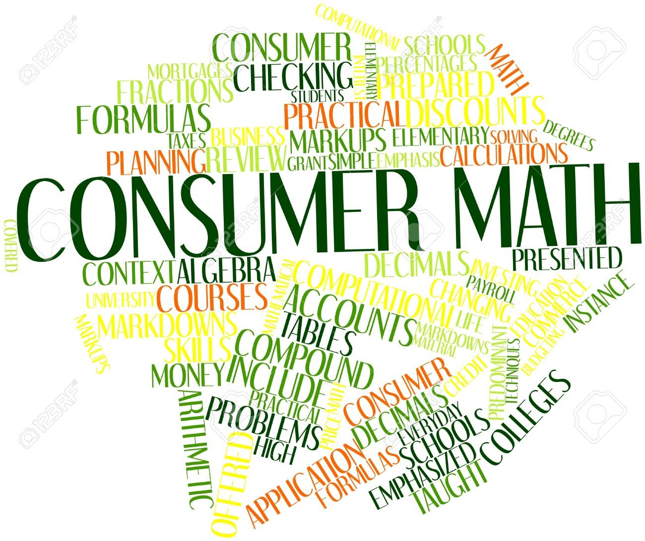 Image result for consumer math