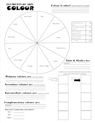 Color theory assignments lucy calkins personal essay examples
